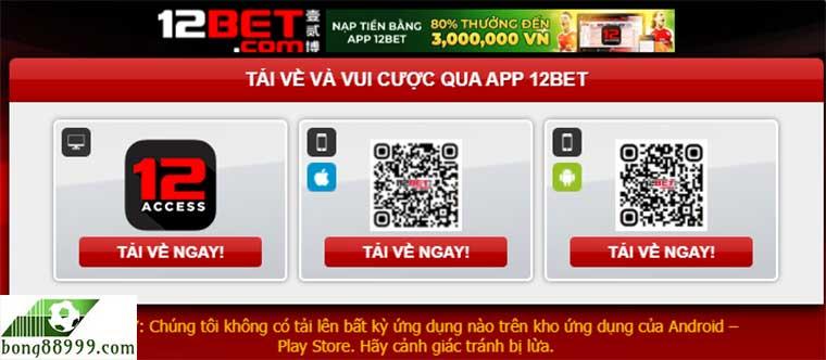 12bet app