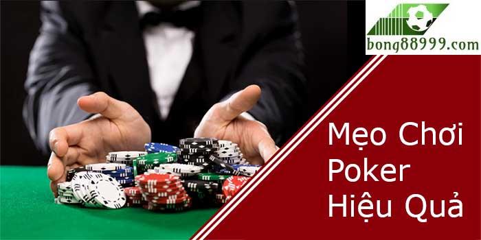 mẹo chơi poker hiệu quả